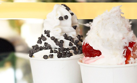 $3 for $6 at Yogurt Stop (San Jose)