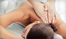 $60 for a Therapeutic Back, Neck and Shoulder Massage at Microcurent Delray