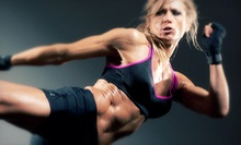 $10 for a Cardio Kickboxing Class at 5:45 p.m. at Advanced Fighting Systems