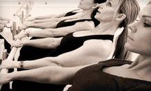 $10 for a One-Hour Barre Class at 9 a.m. at The Barre Studio