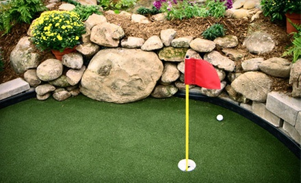 $3 for One Round of Mini Golf (Up to $5 Value)  at Tee Time Family Fun Center