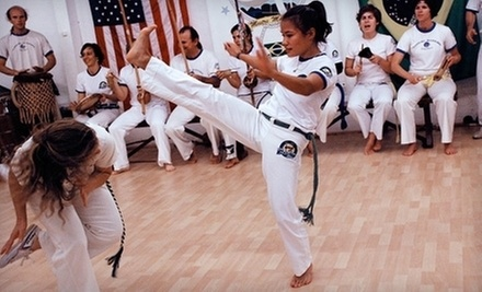 $4 for an Introductory Capoeira Class at 7:00 p.m. at Capoeira Mandinga Academy