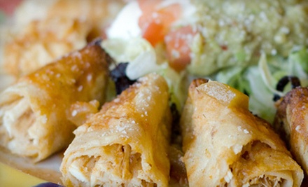 $10 for $15 at Plaza Garcia Family Mexican Restaurant