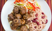 $6 for $8 at Jamaican Cuisine JERK SPOT