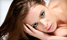 $99 for Single Process Color, Haircut with Style, Brow Tint, and Wax at Tuscan Sky Hair Salon