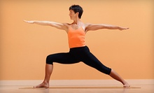 $10 for a 9:45 a.m. Hatha Flow Yoga Class at Your Affinity Place