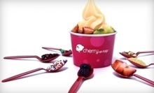 $3 for $5 at Cherry On Top Frozen Yogurt