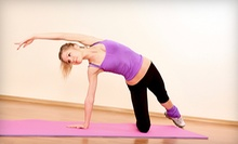$9 for a 7:30 a.m. Vinyasa Flow Yoga Class at Yoga Nanada