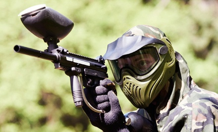 $17 for a Day Pass, Gun Rental, Mask, Air, and 200 Rounds of Ammo at Cape Cod Paintball