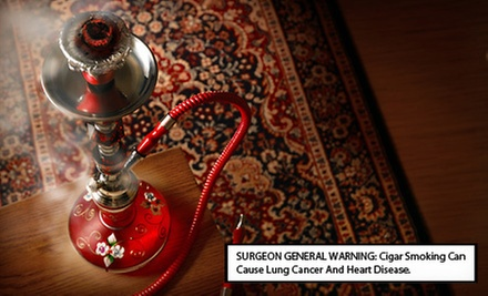 $10 for $15 Worth of Hookah &amp; Drinks at Lux Chateau Hookah Lounge