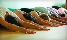 $12 for a Open Level Yoga Class at 10 a.m. at East Yoga