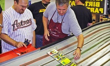 $12 for 1 Hour of Slot Car Racing and Car Rental at Slot Cars of Katy