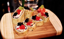 $45 for 2 Plates of Blini Russian Crepes and 4 Specialty-Vodka Shots at Nasha Rasha Restaurant