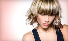 $31 for a Shampoo, Cut, Deep Treatment and Style at Salon 111