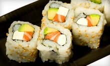 $25 for $40 at Naomi Sushi