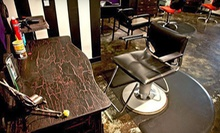 $30 for Haircut and Deep Conditioning Mask  at Luxe De Vil Salon