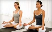 $7 for a Yoga Class from 8 a.m.-9 a.m. at Yoga by Robin