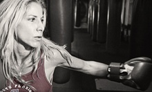 $10 for a Cross Training Class at 10:30 a.m. at South Beach Boxing