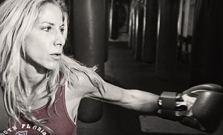 $10 for a One-Hour Kickboxing Class at 7:30 p.m. at South Florida Boxing Miami