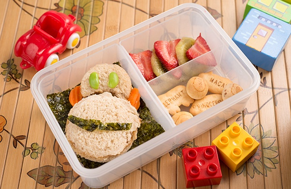diy bento box how to fit a monkey into your kid s lunch. Black Bedroom Furniture Sets. Home Design Ideas
