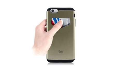 Pocket Card Case For Iphone 6/6+