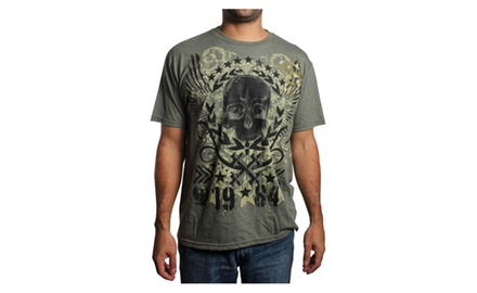 Route 66 1984 Complex Skull T Shirt