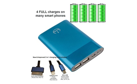 ZOOM POWER BANK, True 6,000 mAh