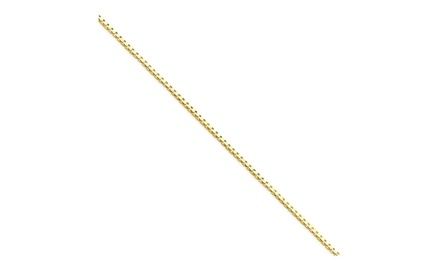 IceCarats Designer Jewelry 14k .90mm Box Chain