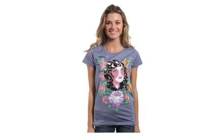 Elegant Floral T Shirt