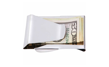 Stainless Steel Dual-Sided Metal Money Clip