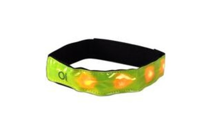 Vibe Reflective Safety Band W/ 4 Led Lights