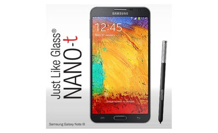 Samsung Galaxy Note III Just like Glass® NANO-t Screen Protector