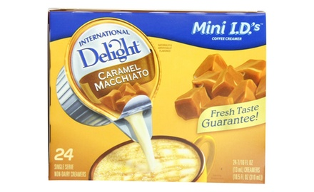 International Delight Coffeehouse Inspirations Caramel Macchiato Creamer Singles (Pack of 144 singles)