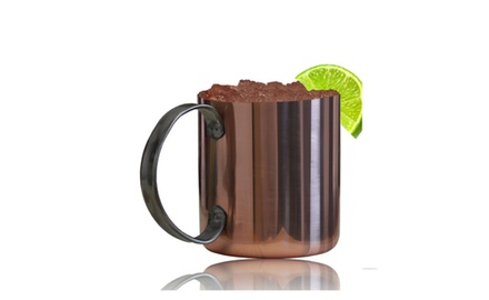 Moscow Mule Style Copper Mug
