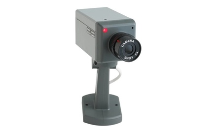 Non-Functioning Authentic-Looking Mock Security Camera