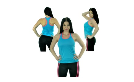 CX Sport Quick-Dry Racerback Workout Tanks - Assorted Colors