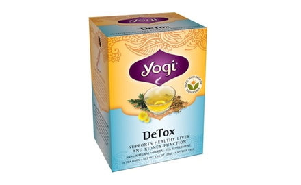 Yogi DeTox Tea, (Pack of 96 tea bags)