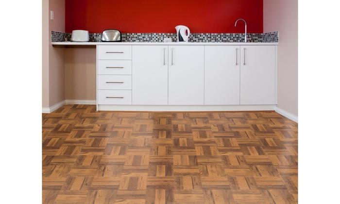 Flooring vinyl tiles