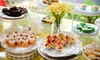 Afternoon Tea and Artificial Flowers with Vegan and Gluten-Free Option from Faith & Memories (Up to 0% Off)
