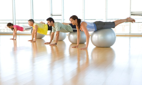 Five Group Fitness Classes or One Month of Unlimited Group Fitness Classes at MVP Fitness (Up to 68% Off)