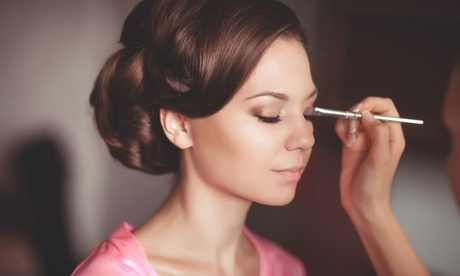 Natural, Bridal, or Glamour Makeup Application from Mistical at Living In Luxury Beauty Spa (Up to 54% Off)
