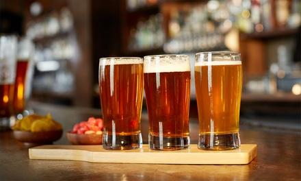 Pack de 4 u 8 cervezas de importación con 4 tapas o raciones desde 9,99 € en Maldonado 21