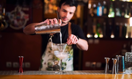 $7 for Online Video Bartending Class from Famous Bartending School ($149 Value)