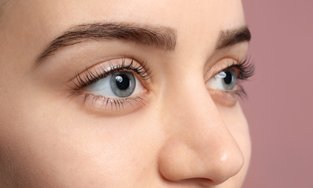 Full Set of Basic or Glam Eyelash Extensions at Candy Spa (Up to 58% Off)