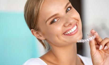 2 sesiones de blanqueamiento dental con led con radiografía, limpieza y opción a 2 férulas (hasta 90%)