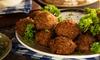 Orientalischer Falafel-Teller