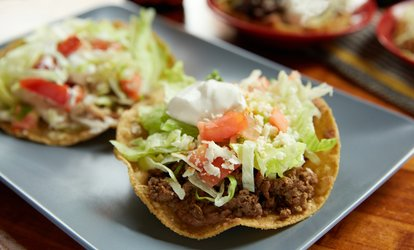 image for $20 Value Valid for Up to Two People or $40 Value Valid for Up to Four People at Fiesta Maya (Up to 32% Off)