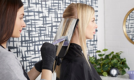 Haircut, Conditioning, Highlights, Head Massage at Shear Perfection Salon (Up to 68% Off). 3 Options Available.