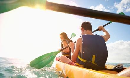 Alquiler de kayak para 2 o 4 personas en Gran Azul Kayaking Tenerife (hasta 58% de descuento)