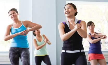 Five or Ten Group Dance or Zumba <strong>Classes</strong> at First Position Dance Arts (Up to 82% Off)